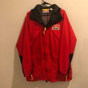 Marlboro adventure team jacket nylon red cigarette